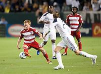 CARSON, CA – NOVEMBER 14: FC Dallas midfielder Dax McCarty (13) during the Western Conference Final soccer match at the Home Depot Center, November 14, 2010 in Carson, California. Final score LA Galaxy 0, Dallas FC 3.