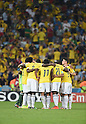 Colombia team group (COL),<br /> JUNE 28, 2014 - Football / Soccer :<br /> Colombia players including James Rodriguez (R) make a circle before the second half during the FIFA World Cup Brazil 2014 Round of 16 match between Colombia 2-0 Uruguay at Estadio do Maracana in Rio De Janeiro, Brazil. (Photo by SONG Seak-In/AFLO)