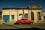 Morning light and shadow  in the coastal city of Cienfuegos, Cuba.