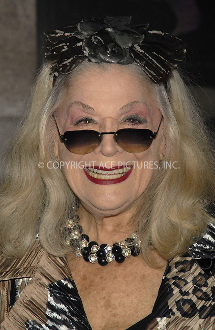 WWW.ACEPIXS.COM . . . . ....December 7, 2007, New York City....Sylvia Miles attends the NY Film Critics Awards at the Supper Club.....Please byline: KRISTIN CALLAHAN - ACEPIXS.COM.. . . . . . ..Ace Pictures, Inc:  ..(212) 243-8787 or (646) 679 0430..e-mail: picturedesk@acepixs.com..web: http://www.acepixs.com