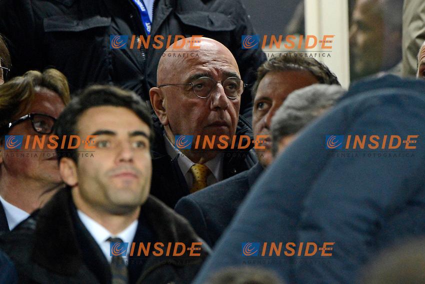 Adriano Galliani Milan<br /> Napoli 08-02-2014 Stadio San Paolo - Football 2013/2014 Serie A. Napoli - Milan Foto Insidefoto