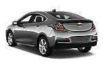 Car pictures of rear three quarter view of 2018 Chevrolet Volt LT 5 Door Hatchback Angular Rear