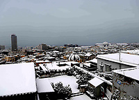 snowfall in Naples 27 Febrary 2018