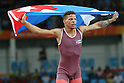 Ismael Borrero Molina (CUB), <br /> AUGUST 14, 2016 - Wrestling : <br /> Men's Greco-Roman 59kg Final<br /> at Carioca Arena 2 <br /> during the Rio 2016 Olympic Games in Rio de Janeiro, Brazil. <br /> (Photo by Koji Aoki/AFLO SPORT)