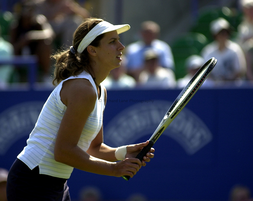 Photo: Richard Lane..Hastings Direct International Championship 2003..16/06/2003..Emmanuelle Gagliardi.