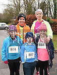 Eleanor, Leah and Tadhg McElearney and Serena and beth Smith who took part in Erin's Run. Photo:Colin Bell/pressphotos.ie