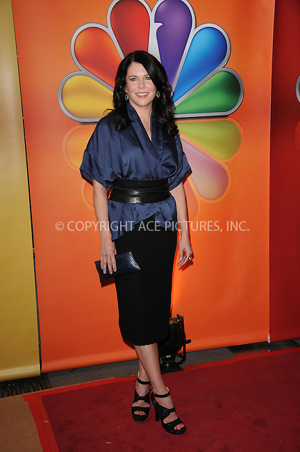 WWW.ACEPIXS.COM . . . . . ....May 14 2012, New York City....Lauren Graham at NBC's Upfront Presentation at Radio City Music Hall on May 14, 2012 in New York City. ....Please byline: KRISTIN CALLAHAN - ACEPIXS.COM.. . . . . . ..Ace Pictures, Inc:  ..(212) 243-8787 or (646) 679 0430..e-mail: picturedesk@acepixs.com..web: http://www.acepixs.com
