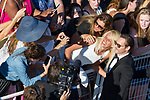 70eme Festival International du Film de Cannes. Montee de la ceremonie de cloture, vues du toit du Palais . 70th International Cannes Film Festival. Vew from rof top of closing red carpet<br /> <br /> Phoenix, Joaquin