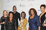 Tina Lundgren - Valerie Simpson - B Michael - Cicely Tyson - Mary Wilson - Tamara Tunie - The 11th Annual Skating with the Stars Gala - a benefit gala for Figure Skating in Harlem on April 11, 2016 on Park Avenue in New York City, New York with many Olympic Skaters and Celebrities. (Photo by Sue Coflin/Max Photos)