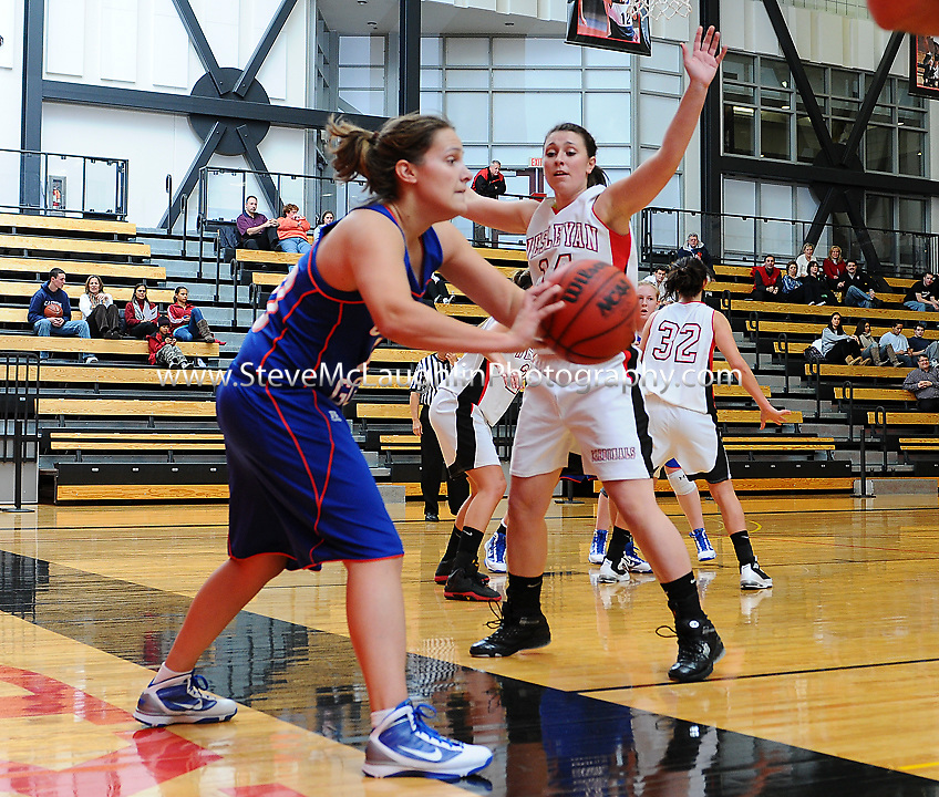 Wesleyan University Women's basketball defeated the Coast Guard Academy in Middletown Monday night.