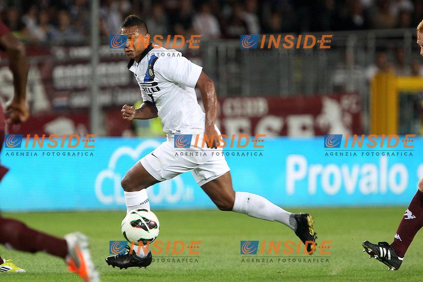 """Fredy Guarin Inter.Torino 16/09/2012 Stadio """"Olimpico"""".Football Calcio Serie A 2012/13.Torino v Inter.Foto Insidefoto Paolo Nucci."""