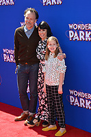 LOS ANGELES, CA. March 10, 2019: Constance Zimmer, Russ Lamoureux &amp; Colette Zoe Lamoureux at the premiere of &quot;Wonder Park&quot; at the Regency Village Theatre.<br /> Picture: Paul Smith/Featureflash