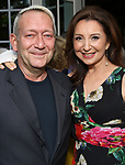 Michael John LaChiusa and Donna Murphy attends the Urban Stages' 35th Anniversary celebrating Women in the Arts at the Central Park Boat House on May 15, 2019 in New York City.