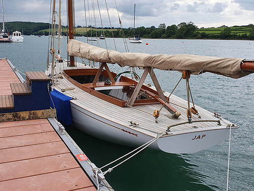 The classically-restored Jap back in Crosshaven
