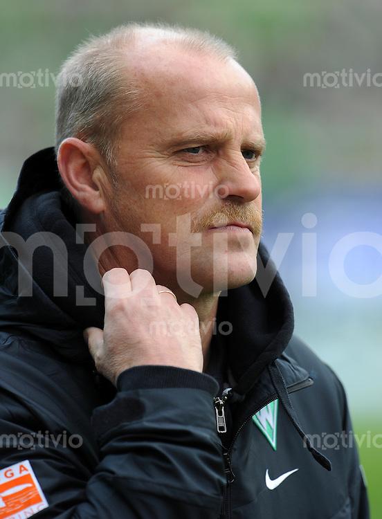FUSSBALL   1. BUNDESLIGA   SAISON 2010/2011   8. SPIELTAG SV Werder Bremen - SC Freiburg                            16.10.2010 Trainer Thomas SCHAAF (Bremen)