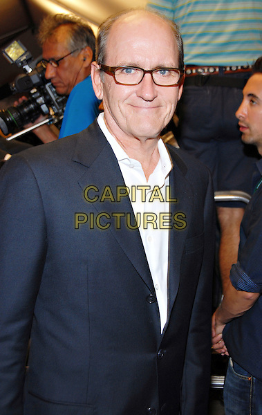 "RICHARD JENKINS.attends the ""Burn After Reading"" Premiere held at Roy Thomson Hall during the 33rd Annual Toronto International Film Festival, Toronto, Ontario, Canada,  05 September 2008..half length glasses white shirt grey gray black suit jacket blazer .CAP/ADM/BPC.©Brent Perniac/Admedia/Capital Pictures"