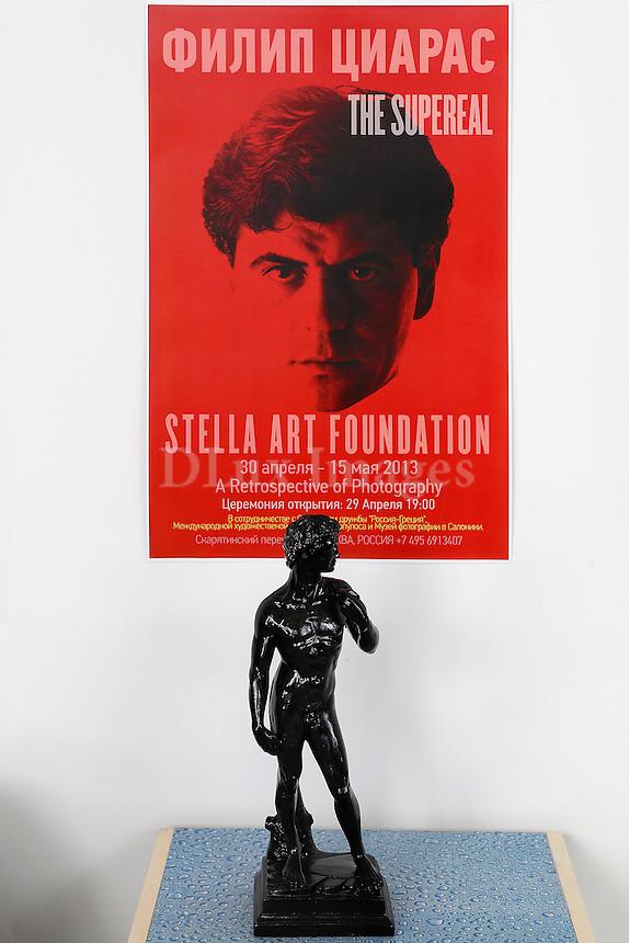 black statuette