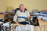 Ger O'Keeffe selector with the Kerry senior team in his engineering office in Tralee.