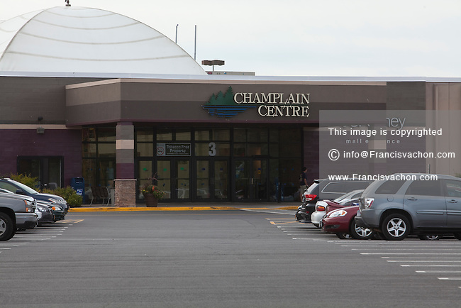 Champlain Centres shopping mall is pictured in Plattsburgh, NY, Monday September 9, 2013. Plattsburgh is a popular shopping destination for Quebecer looking for lower prices.