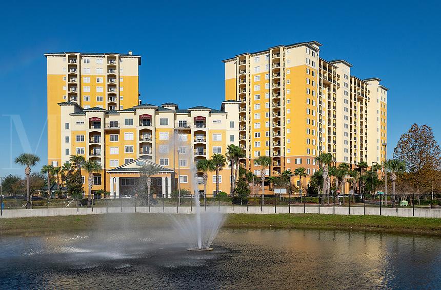 Lake Buena Vista Resort Hotel and Spa, Orlando, Florida, USA.