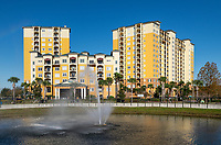 Lake Buena Vista Resort Hotel and Spa, Orlando, Florida, USA.
