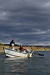 Collen Cura River in  Patagonia, Cathy Beck, Andy Hermosilla