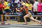 Hikaru Takekawa (JPN), <br /> AUGUST 22, 2018 - Bowling : <br /> Women's Trios Block 1 <br /> at Jakabaring Sport Center Bowling Center <br /> during the 2018 Jakarta Palembang Asian Games <br /> in Palembang, Indonesia. <br /> (Photo by Yohei Osada/AFLO SPORT)