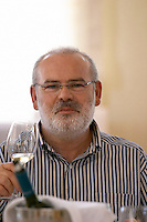 Yiannis Kalaitzidis, owner. Wine Art Estate Winery, Microchori, Drama, Macedonia, Greece