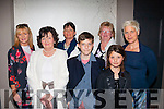 Support<br /> -----------<br /> Attending the teen fashion show organised by c were Ann&amp;Breda Riordan,Karol Dooley,Mary Breen with Lennox,Yasmina&amp;Maja Beaujouan