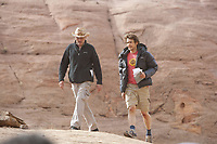 127 Hours (2010) <br /> Behind the scenes photo of James Franco &amp; Danny Boyle<br /> *Filmstill - Editorial Use Only*<br /> CAP/KFS<br /> Image supplied by Capital Pictures