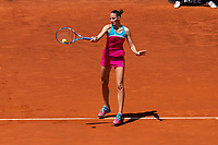 Czech Karolina Pliskova during Mutua Madrid Open 2018 at Caja Magica in Madrid, Spain. May 10, 2018. (ALTERPHOTOS/Borja B.Hojas) /NORTEPHOTOMEXICO