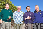 TEEING OFF: Taking part in the golf classic at Dooks on Friday last were l-r: Paul Inglis, Alan Turnbull, Declan Clifford, Ben Carey.