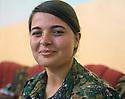 Irak 2015  Dersim, first Yezidi woman joining the PKK fighters. Today, she is a Yezidi fighters of &Ecirc;zidxan Women&rsquo;s units ( YI&Ecirc; )<br /> Irak 2015  Dersim, premiere femme yezidi a rejoindre les combattants du PKK. Aujourd&rsquo;hui elle est combattante de l&rsquo; Yi&Ecirc;<br /> عیراق 2015 , دیرسیم , یه که مین ژنی تیکوشه ری ئیزیدیه که چووه بو لای ریزی تیکوشه رانی پ کا کا.