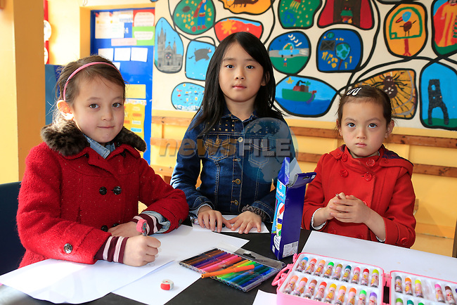 Mailee Murphy ruby hua Mia Murphy at the Community Games Art and Handwriting.<br /> Picture www.newsfile.ie