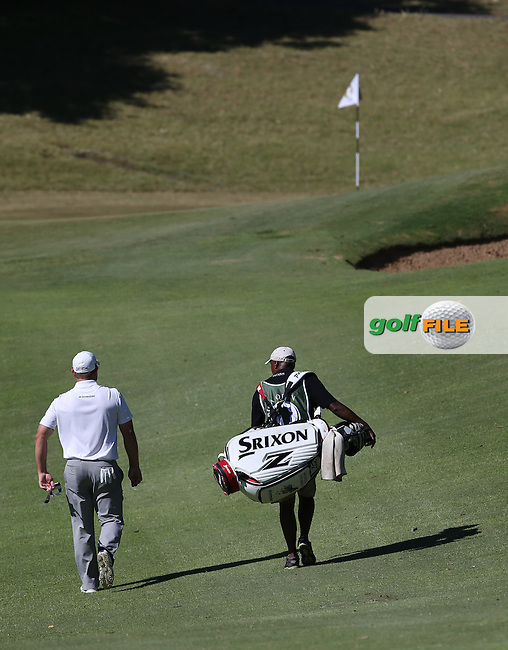 Journey to Better. Merrick Bremner (RSA) heads to the 9th during Round Three of the Africa Open 2015 at the East London Golf Club, East London, Eastern Cape, South Africa. Picture:  David Lloyd / www.golffile.ie. 07/03/2015