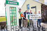 Waterville joins the changes with Defibrillator Telephone Box in a joint venture with the CFR and Waterville Tidy Towns, pictured here l-r; John Galvin (Community First Responder - Group Coordinator), Mick O'Dwyer, Pat Everett(CFR Treasurer), Cllr. Norma Moriarty & Alan McGuirk(Waterville Tidy Towns)
