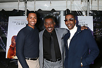 """LOS ANGELES - DEC 4:  Arrington Foster, Ernie Hudson, Miguel A Nunez Jr at the """"If Beale Street Could Talk"""" Screening at the ArcLight Hollywood on December 4, 2018 in Los Angeles, CA"""