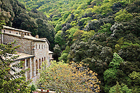 Hermitage of the Cells (Eremo delle Carceri) on Mount Subasio above Assisi, Umbria, Italy, AGPix_1888