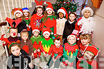 Mrs Joanne Ryan and Sarah Daly Junior Infants class of Moyderwell Primary School who took part in their Christmas play on Friday.