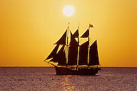 Sailing off Frederiksted<br /> St. Croix<br /> U.S. Virgin Islands