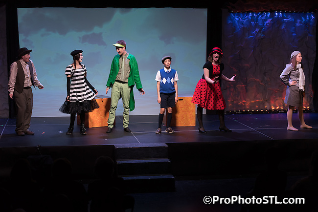 James and the Giant Peach Jr. presented by STAGES Academy Triple Threads at Kent Center For Theatre Arts in Chesterfield, Missouri on April 24, 2016.