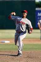 Christian Beltre -  Visalia Rawhide playing against the Modesto Nuts at John Thurman Field, Modesto, CA - 05/19/2009.Photo by:  Bill Mitchell/Four Seam Images