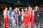 Debs Ball : Pictured prior to leaving Listowel for Tralee in Ireland's biggest Hummer were debutants Nikita Fenten, Karrina Brosnahan, Siun Healy, Carla Maxwell, Niamh Stack, Melissa Weeks, Sinead O'Hanlon, Shannon Canty, Shannon O'Hanlon & Chloe McCool