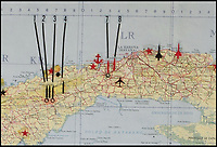 BNPS.co.uk (01202) 558833Pic: RRAuction/BNPS<br /> <br /> Missile sites are marked...<br /> <br /> Crisis?...What Crisis? - JFK's pesonal map of Cuba sells for a whopping &pound;100,000.<br /> <br /> The historic map that JFK used to plot his way through the darkest hours of the Cuban Missile Crisis of 1962 has sold for over 6 times its estimate.<br /> <br /> JFK pored over the map on 27th of October that year, the day the world held its breath as the Superpowers almost spiralled into nuclear war over Castro's Cuba.<br /> <br /> US President John F Kennedy used the map to examine the locations of all the Soviet missiles and aircraft in Cuba, and decide whether or not to launch an air strike as tensions between the countries reached a climax.<br /> <br /> The president referred to the map as the 'victory map' after he avoided all-out war and struck a deal that brought the crisis to an end the following day.<br /> <br /> The hammer came down at $138,798 in Boston yesterday - approximatly &pound;97,000.