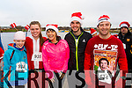 Denise Stack, Lauren Murphy, Sinead Dowd, Kevin Dowd and Adrian O'Connor, pictured at the Santa 5k run on Sunday last in aid of the Ronald McDonald House, Crumlin.
