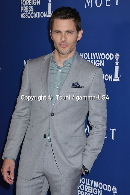 James Marsden  at the HFPA Grants to Non Profits and Scholarship Programs at the Beverly Hilton In Los Angeles.