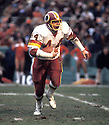 Washington Redskins John Riggins(44) during a game from the 1982 season at Robert F. Kennedy Memorial Stadium in Washington D.C.  John Riggins played for 14 years with 2 different teams, was a 1-time Pro Bowler and was inducted to Pro Football Hall of Fame in 1992