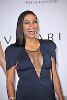 Rosario Dawson  at the 21st annual amfAR Cinema Against AIDS Gala at the Hotel du Cap d'Antibes.<br /> May 22, 2014  Antibes, France<br /> Picture: Paul Smith / Featureflash