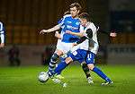 St Johnstone v Inverness Caley Thistle..29.12.12      SPL.Liam Craig and Nick Ross.Picture by Graeme Hart..Copyright Perthshire Picture Agency.Tel: 01738 623350  Mobile: 07990 594431