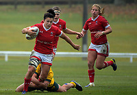 Amanda Thornborough in action during the 2017 International Women's Rugby Series rugby match between Canada and Australia Wallaroos at Smallbone Park in Rotorua, New Zealand on Saturday, 17 June 2017. Photo: Dave Lintott / lintottphoto.co.nz